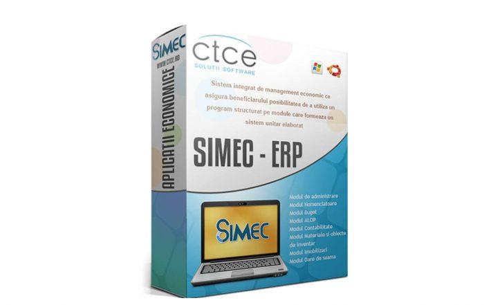 SIMEC - aplicatie CTCE - Centrul Teritorial de Calcul Electronic